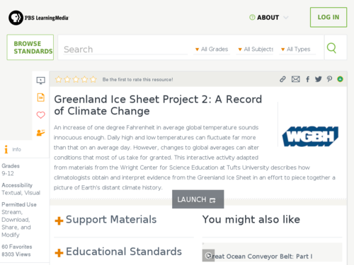 greenland ice sheet project 2 a record of climate change noaa