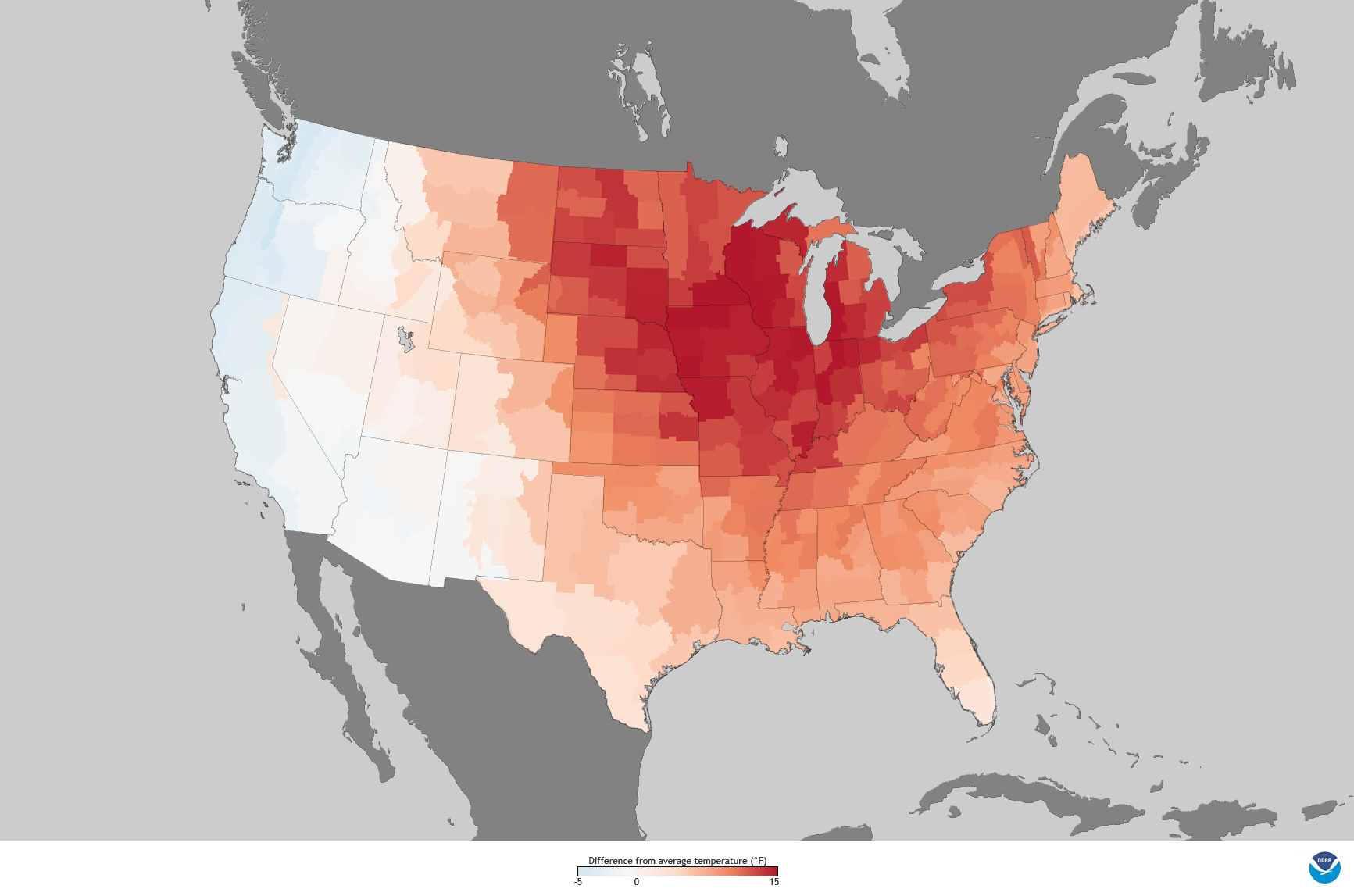 It\'s official: March 2012 warmth topped the charts | NOAA Climate.gov