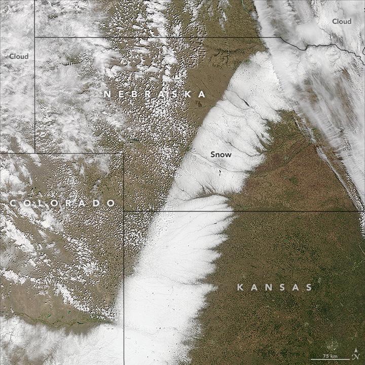 Snow, Storm, Great Plains